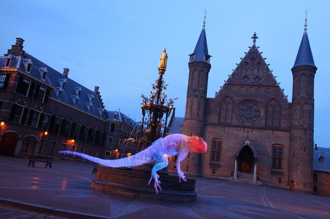 Pixelstick photography The Hague