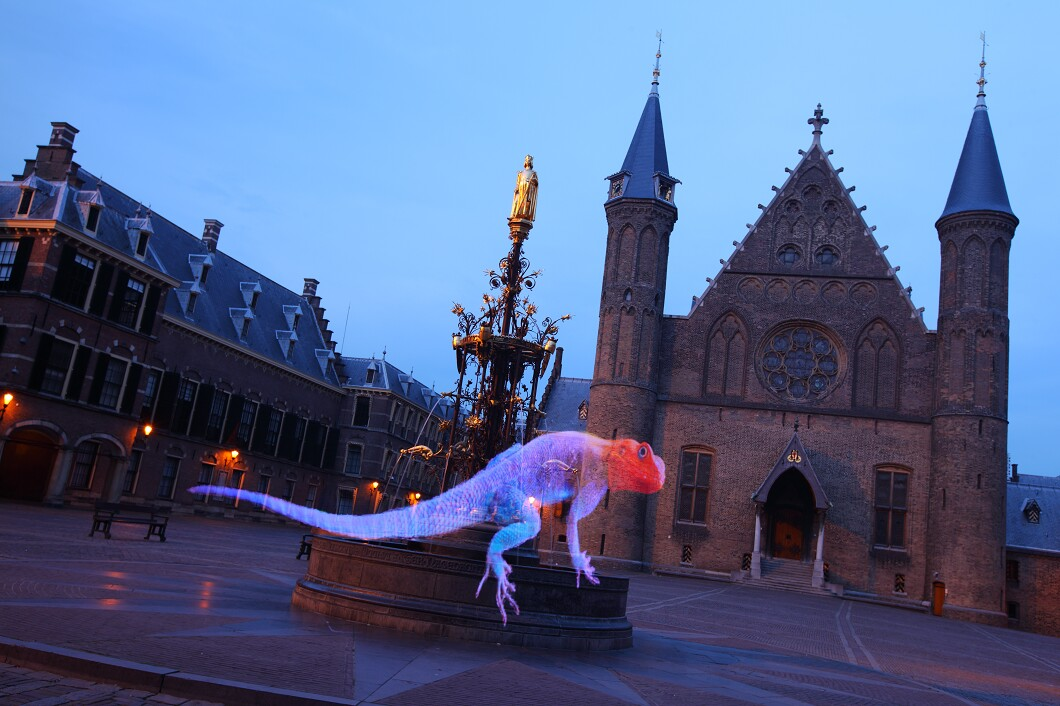 Pixelstick photography The Hague