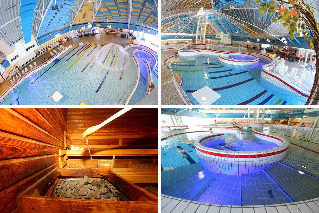 Zwembad interieur fotografie