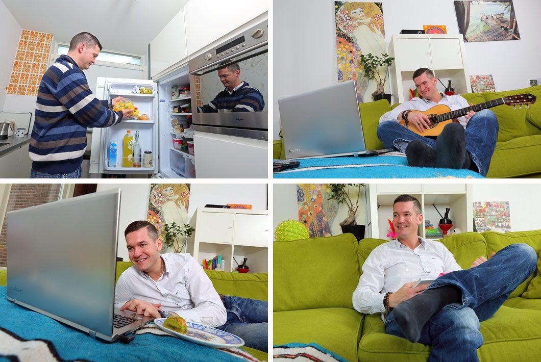 Fotografie in Den Haag bij mensen thuis