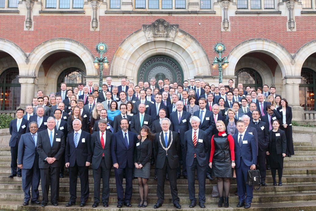 Groepsfoto Den Haag