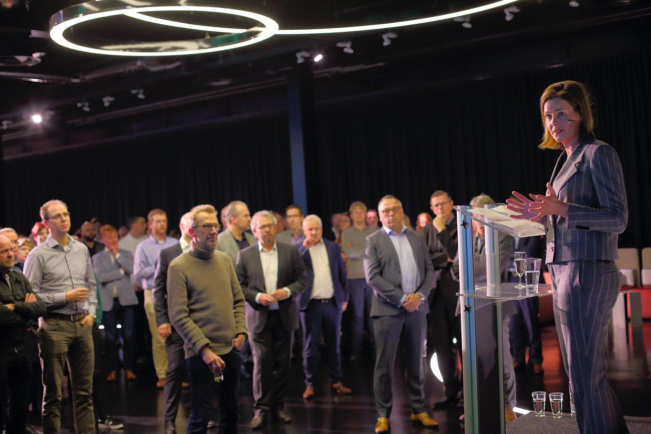 Fotografie tijdens congres in het Media Plaza, Jaarbeurs te Utrecht
