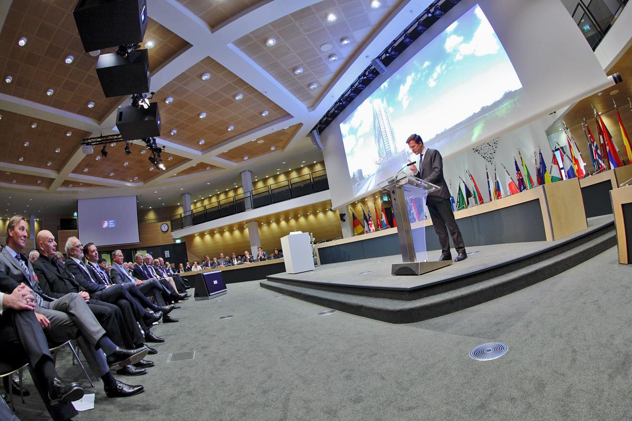 fotografie congres minister president