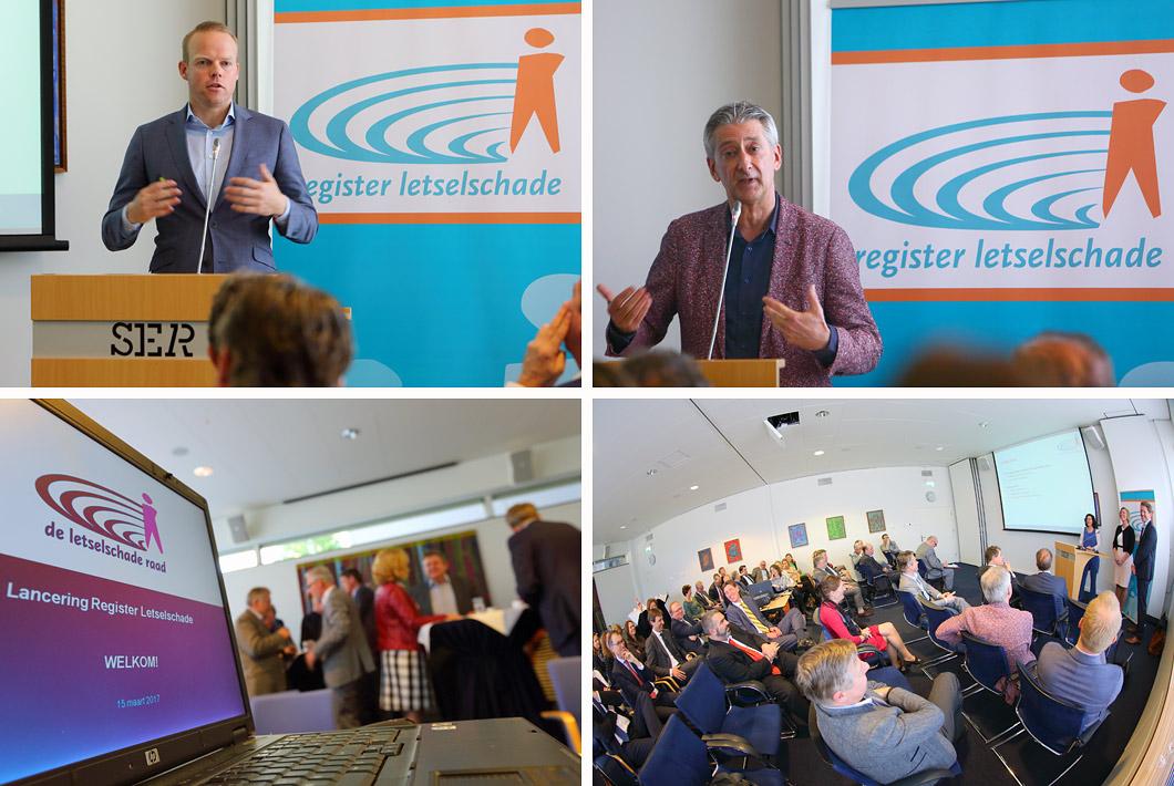 Fotografie bijeenkomst SER congres event te Den Haag