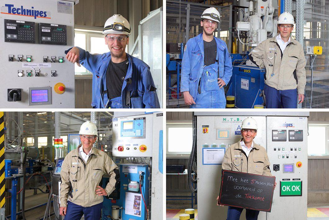 fotoreportage fabrieksmedewerkers