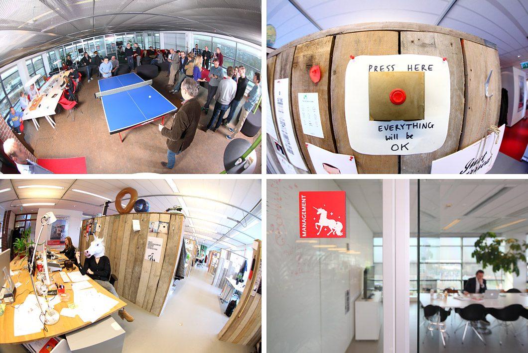 Fotografie op kantoor Amsterdam