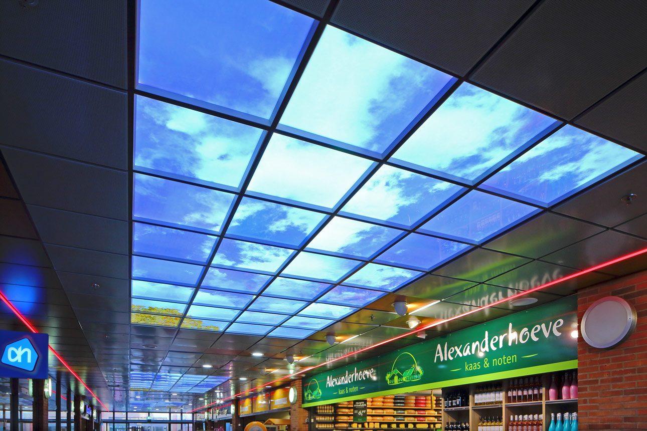 interieurfotograaf, foto van een interieur winkelcentrum