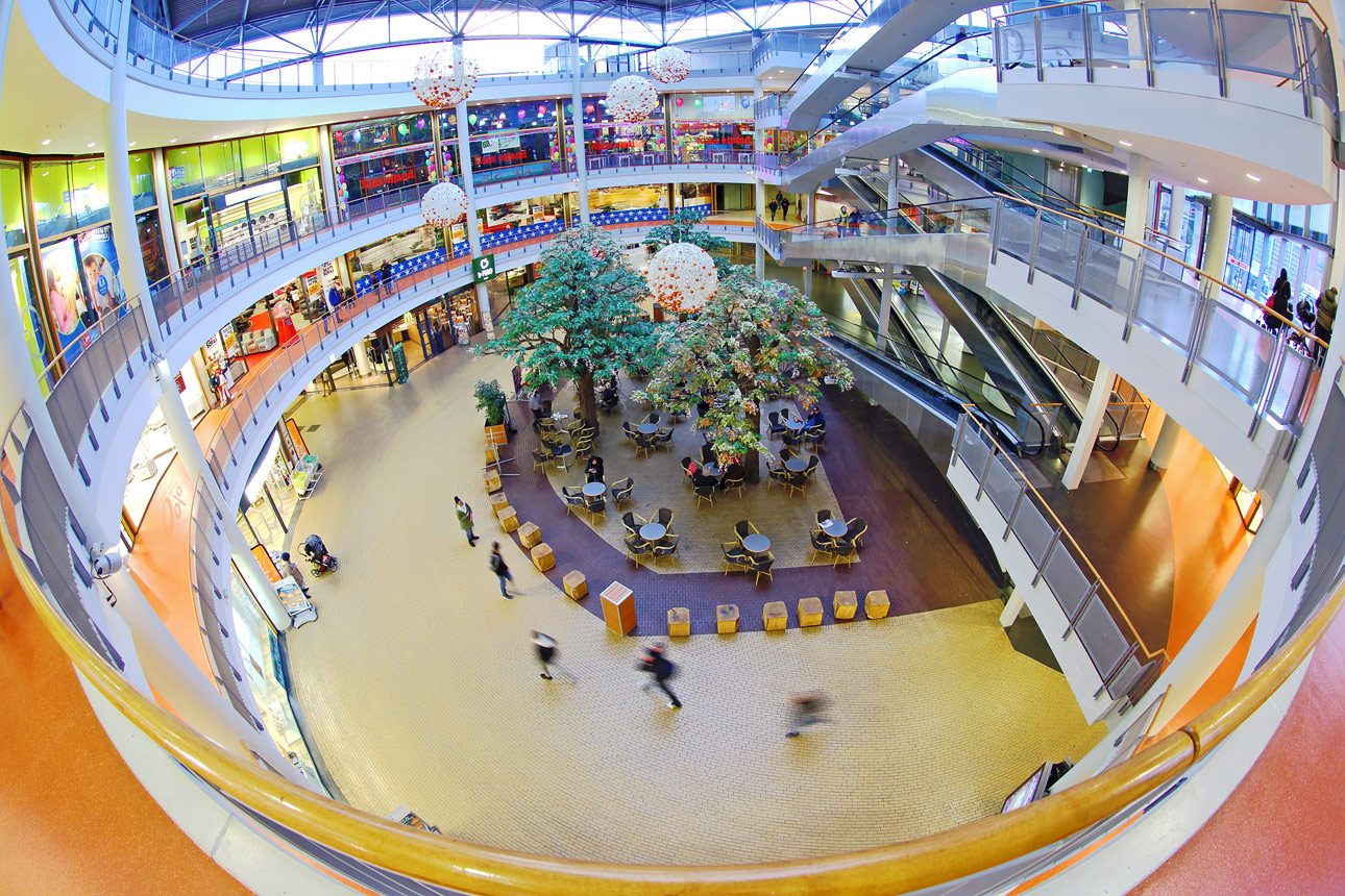 interieurfotografie winkelcentrum