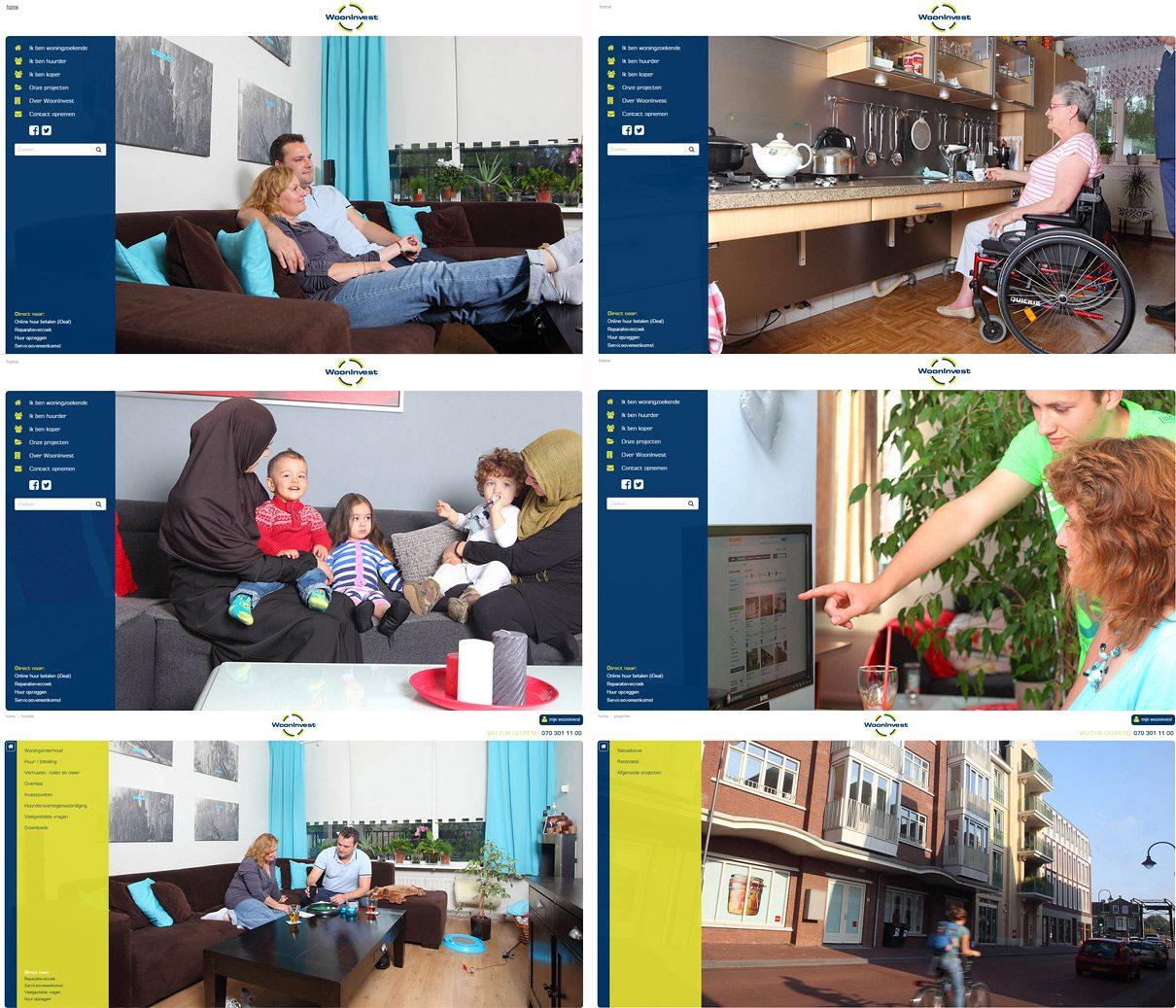 Klanten verhaal fotografie voor woningcorporatie, case story bedrijfsfotograaf
