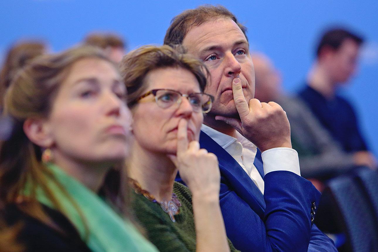 Politiek Den Haag fotografie van sprekers