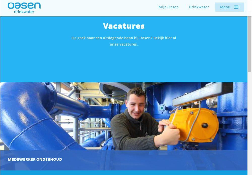werken bij, vacature website, fotografie arbeidsmarktcommunicatie voor personeelswerving