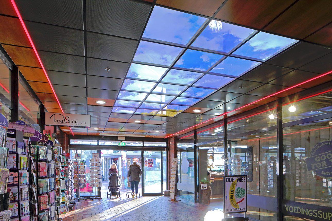 interieur fotografie van winkelcentrum