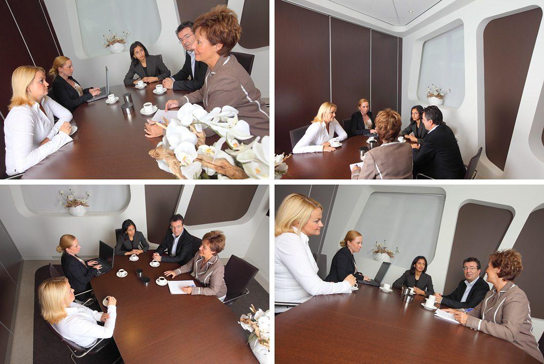 Vergadering fotografie bedrijfsfotografie op locatie