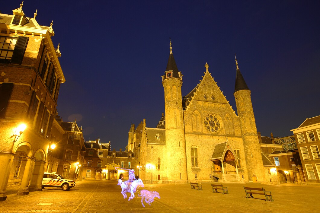 Pixelstick fotografie Den Haag