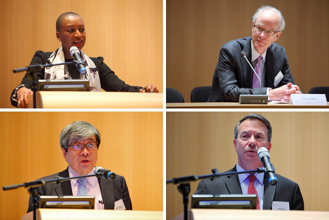 Congres fotografie in het Vredespaleis te Den Haag
