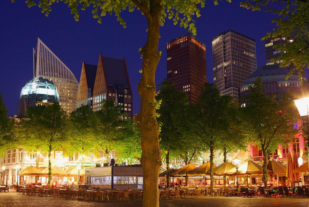 skyline foto Den Haag