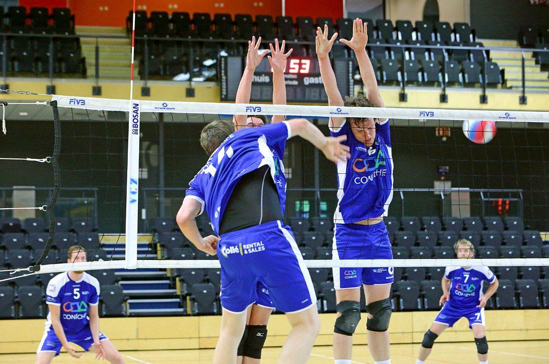 Indoor sport fotografie volleybal