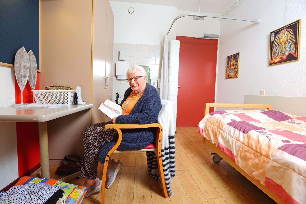 zorg fotografie in kamer van bewoners