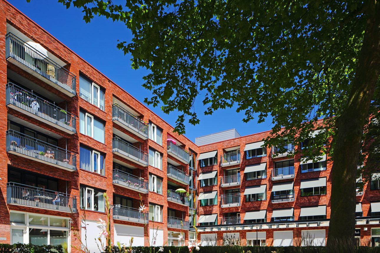 woningbouw nieuwbouw project fotos