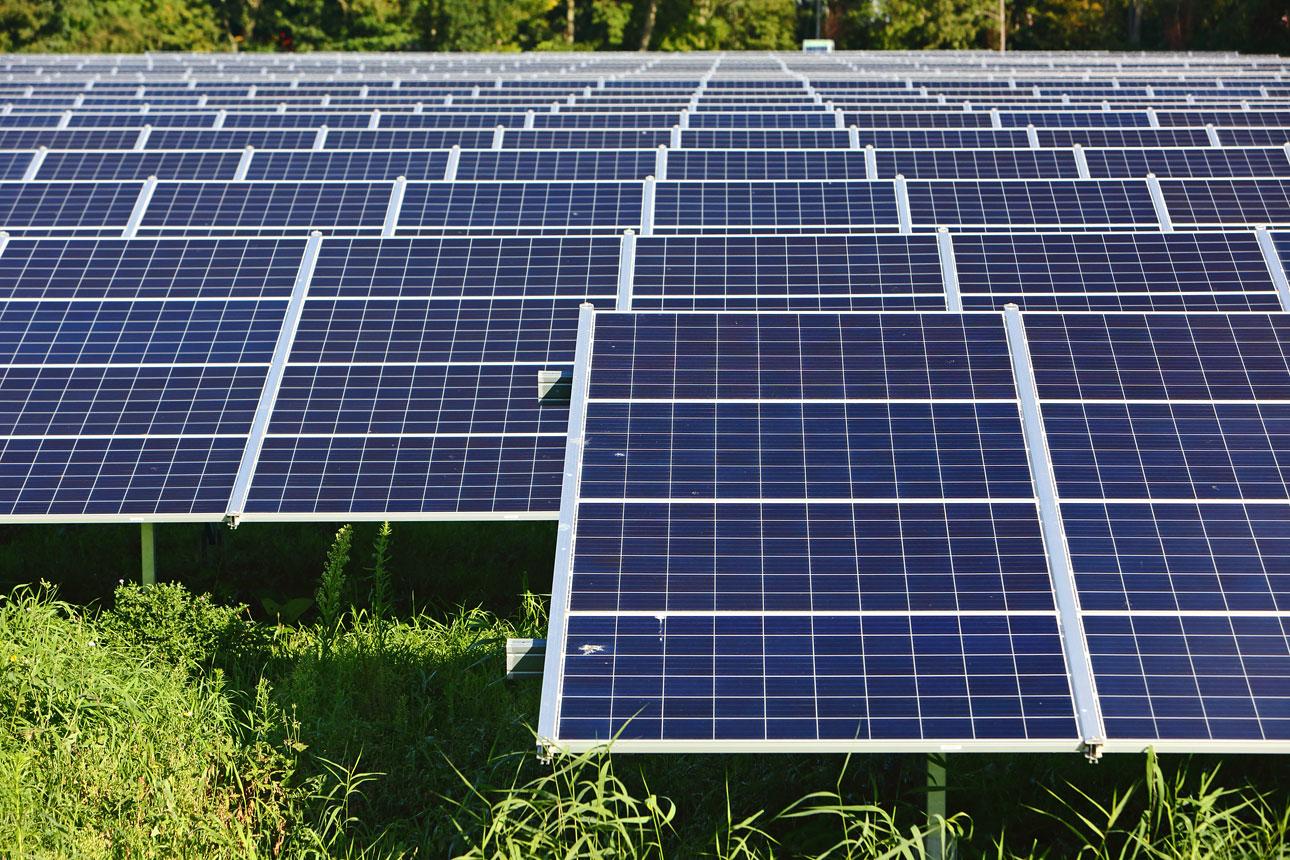 foto's Installatie zonnepanelen project