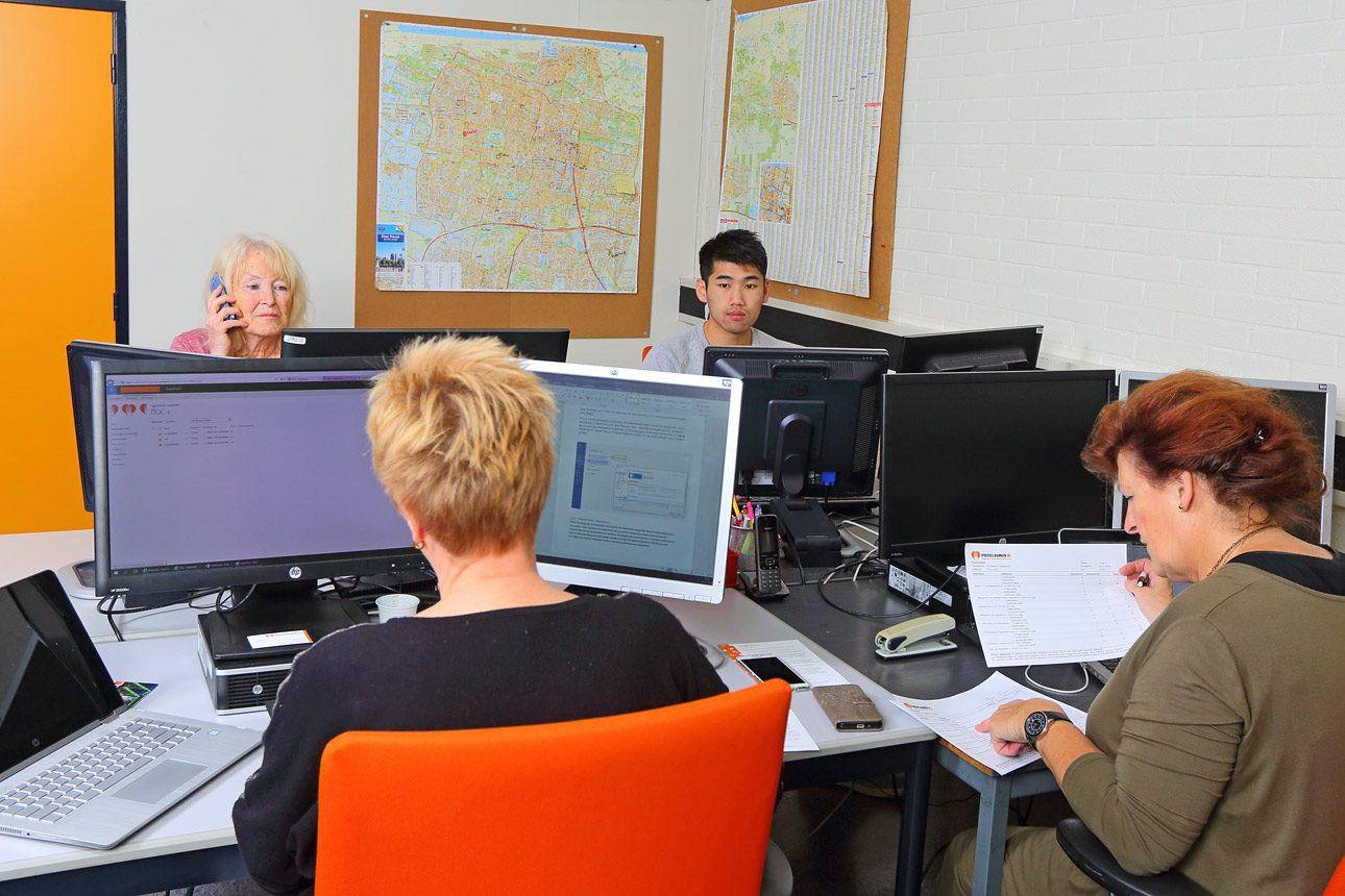 Fotografie op kantoor, foto´s van medewerkers