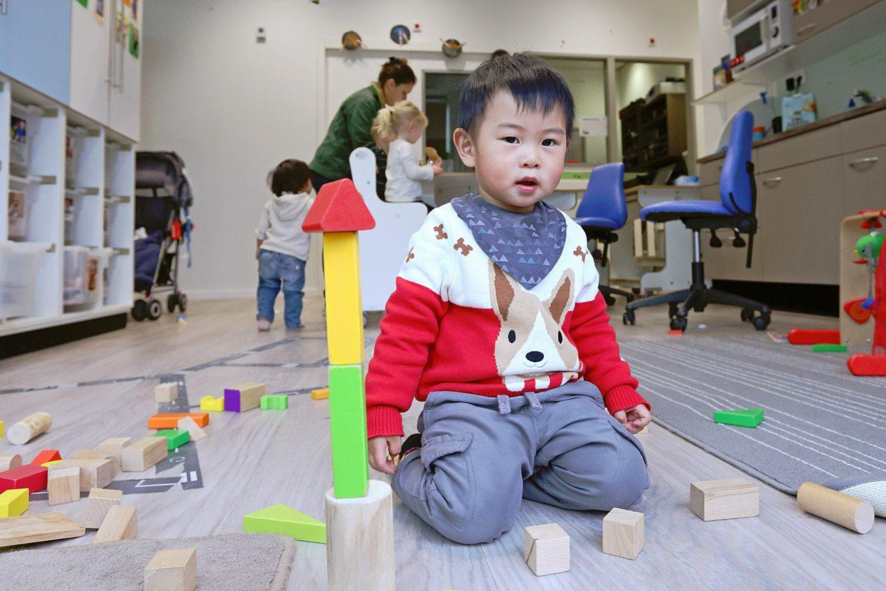 fotograaf voor kinderdagverblijf foto's