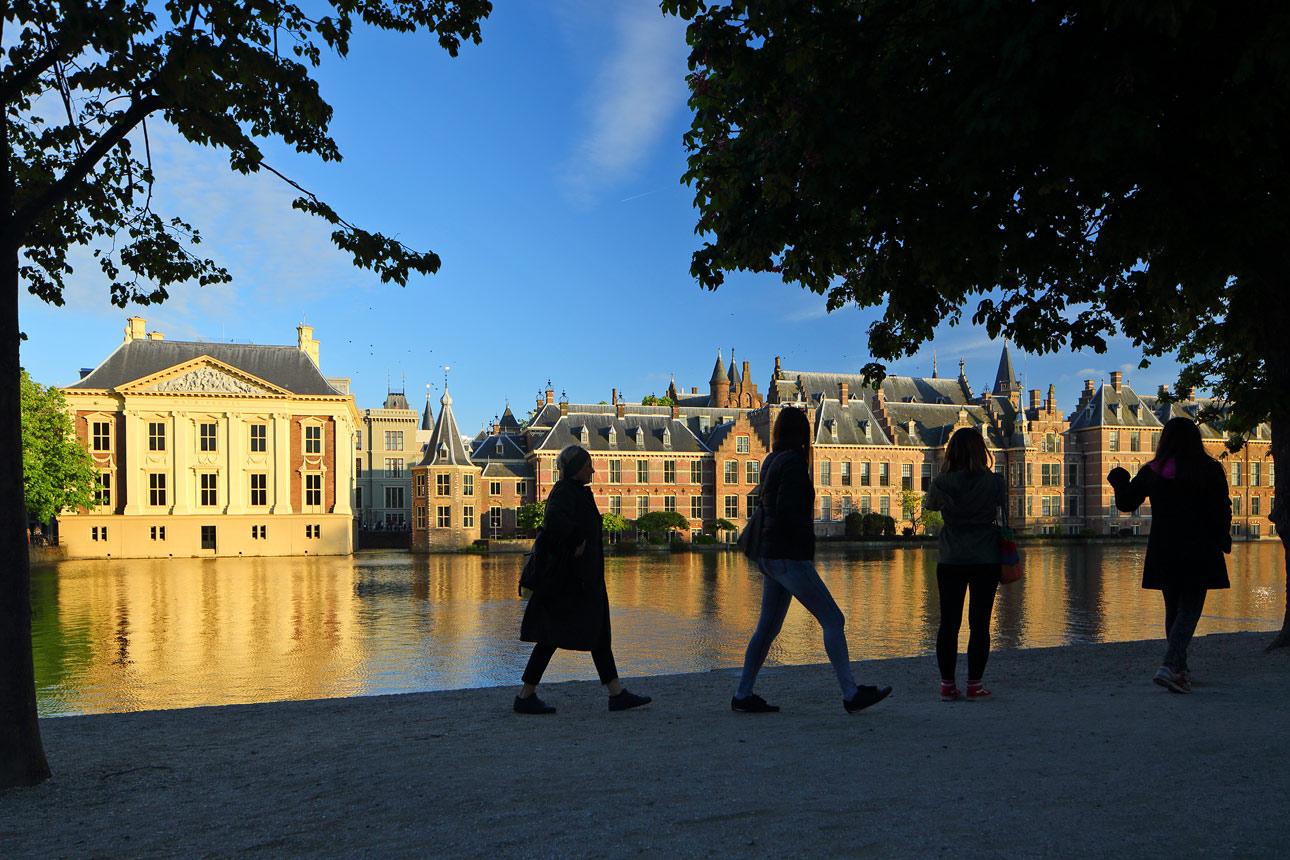 Tilt shift foto Den Haag