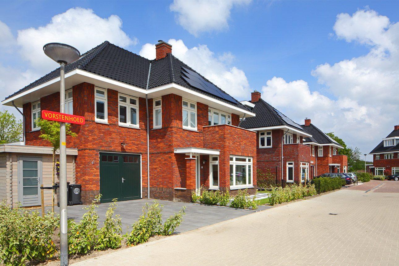 Woningbouw fotografie van woningen. Fotograaf voor projectontwikkeling nieuwbouw