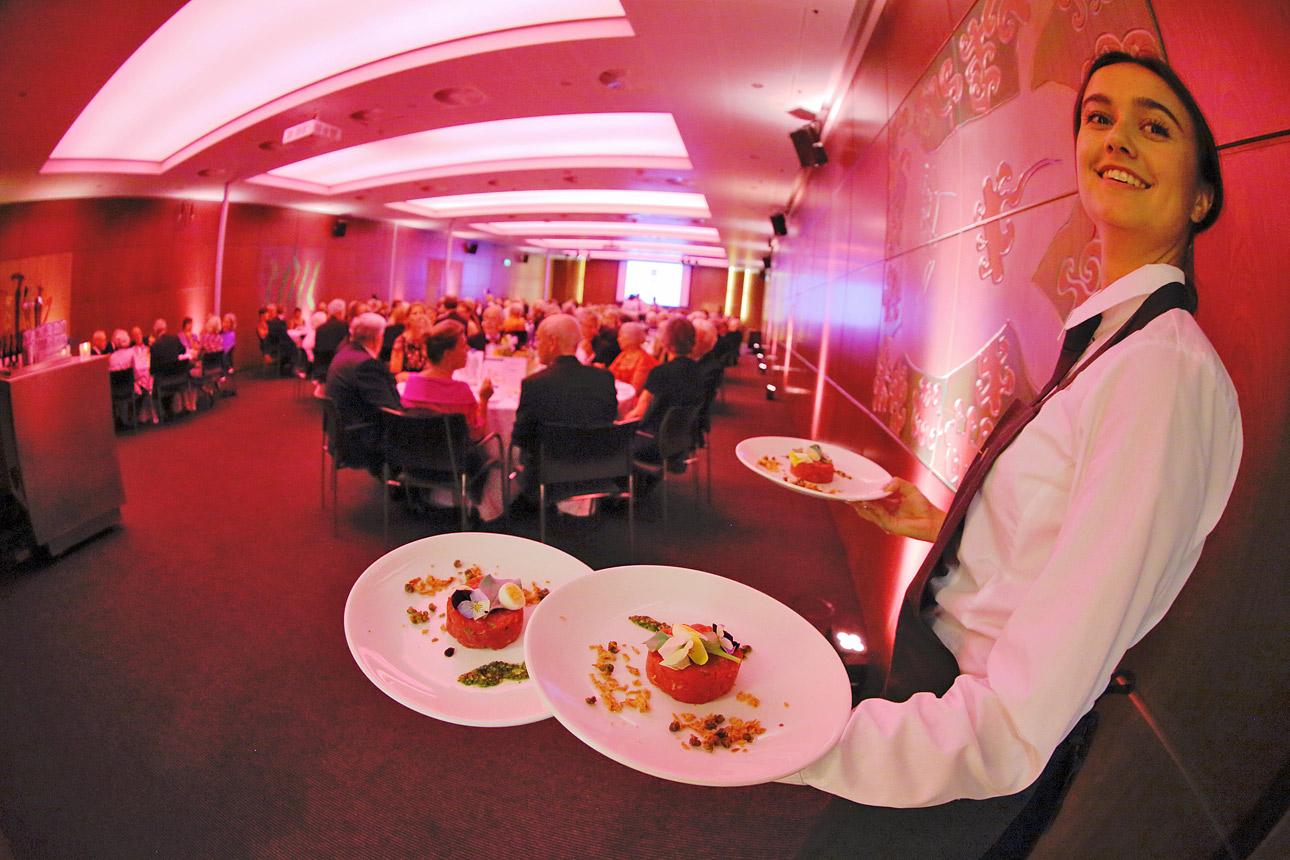 Congresfotografie tijdens gala dinner in het WTC Rotterdam