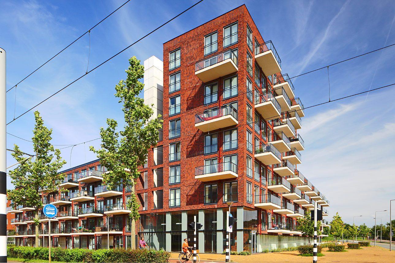Fotografie van woningbouwproject, foto's van woningen in Den Haag