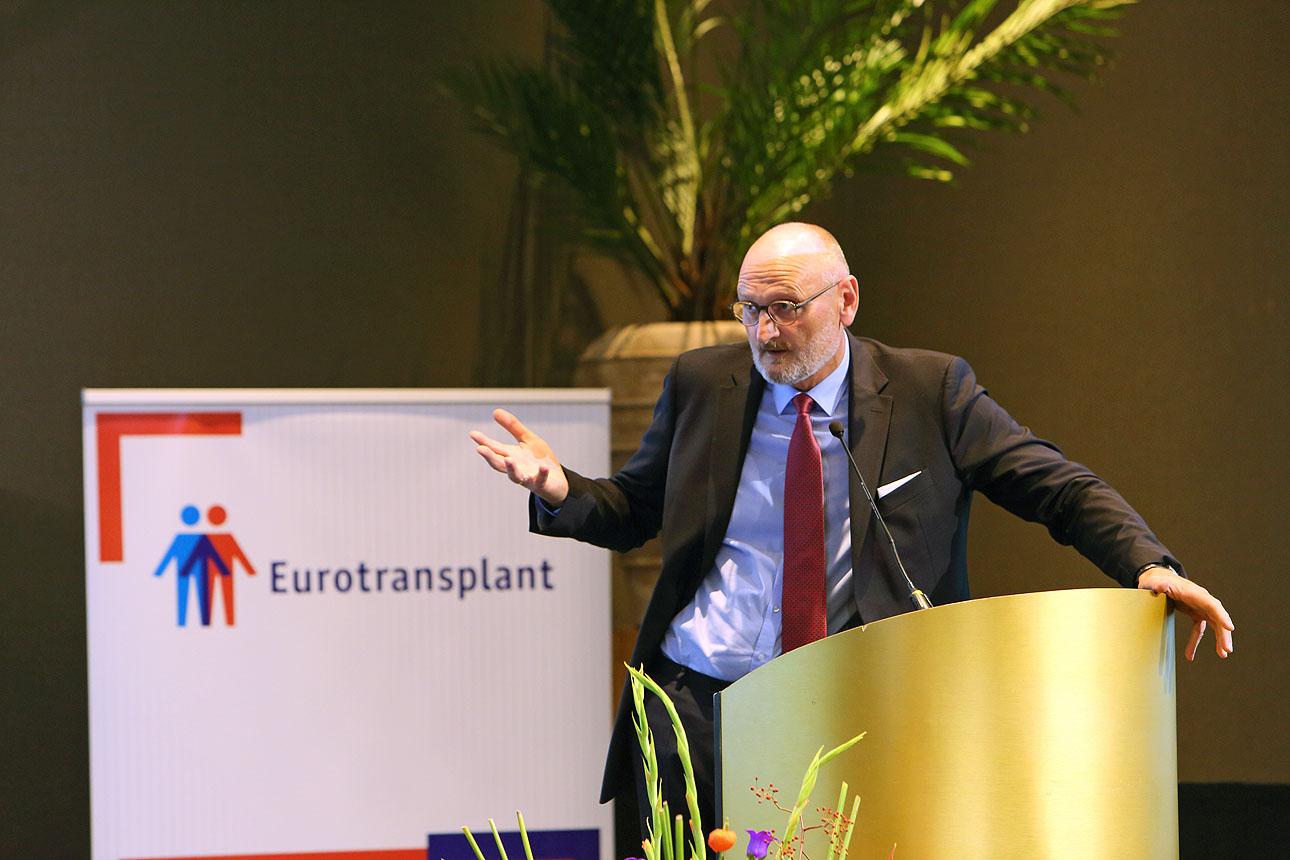 foto van spreker op een congres