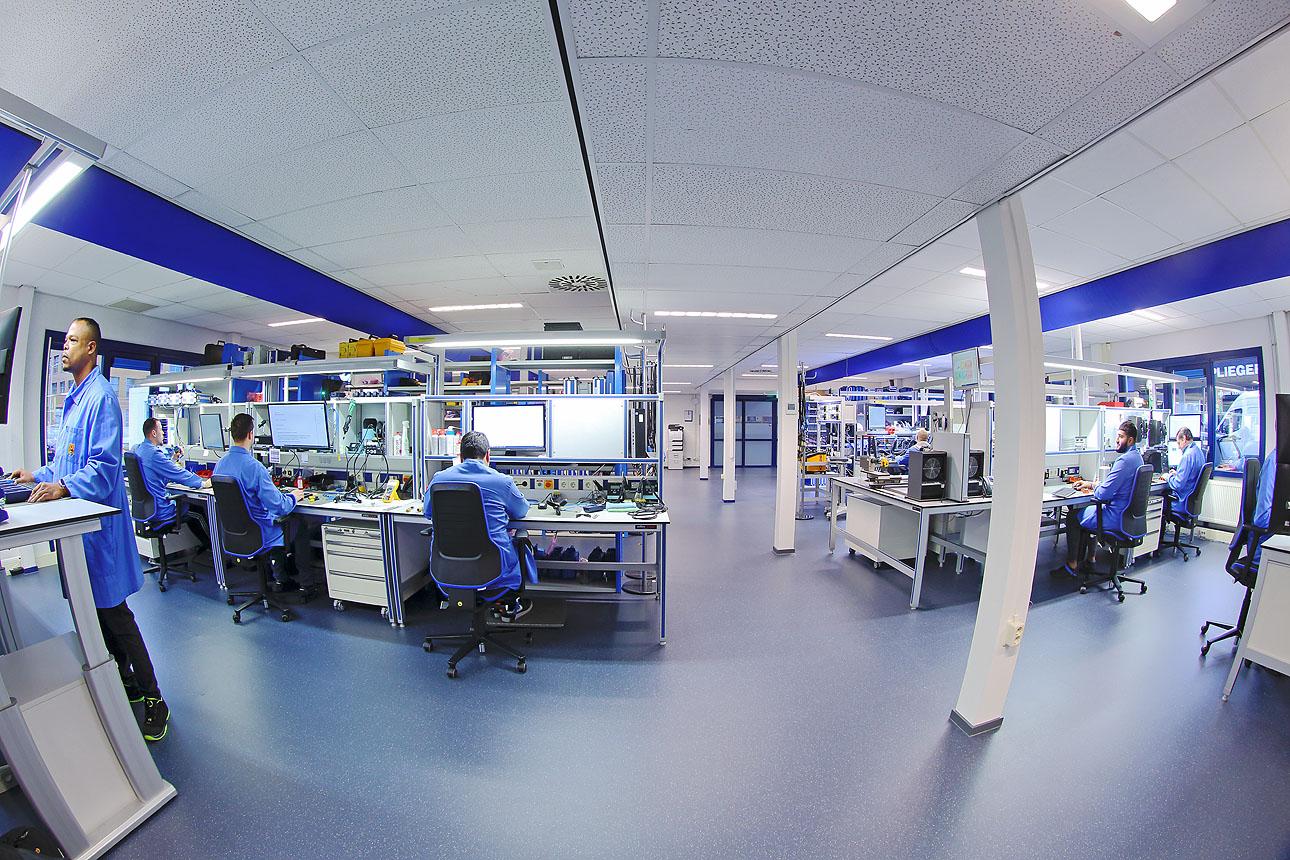 Bedrijfsfotografie in het laboratirium