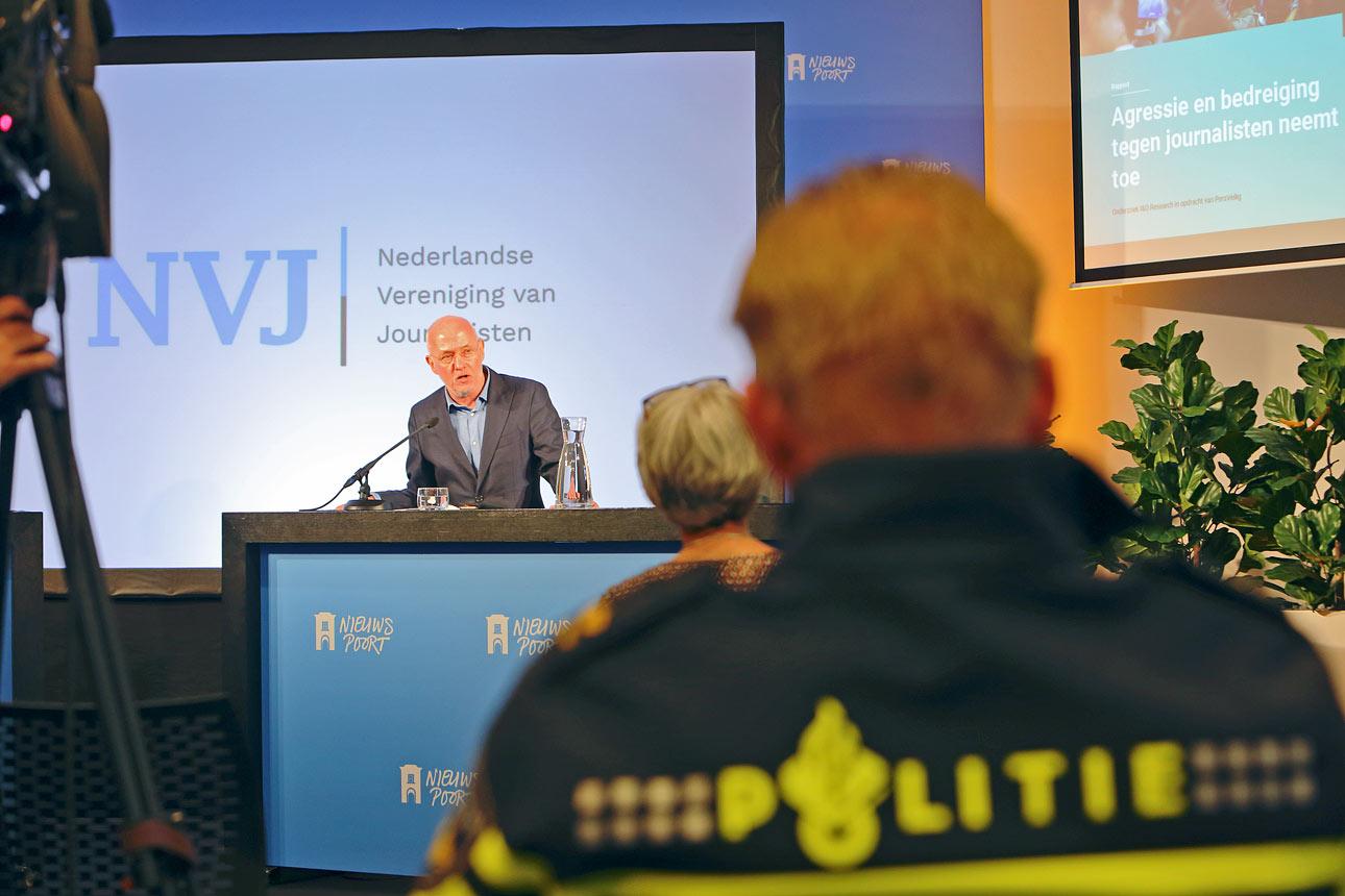 Politiek Den Haag fotografie Nieuwspoort