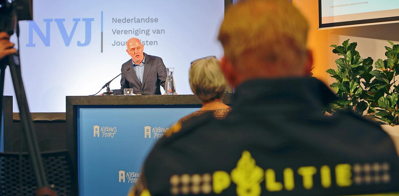congresfotografie in Den Haag. Fotografie bij Nieuwspoort voor het NVJ.