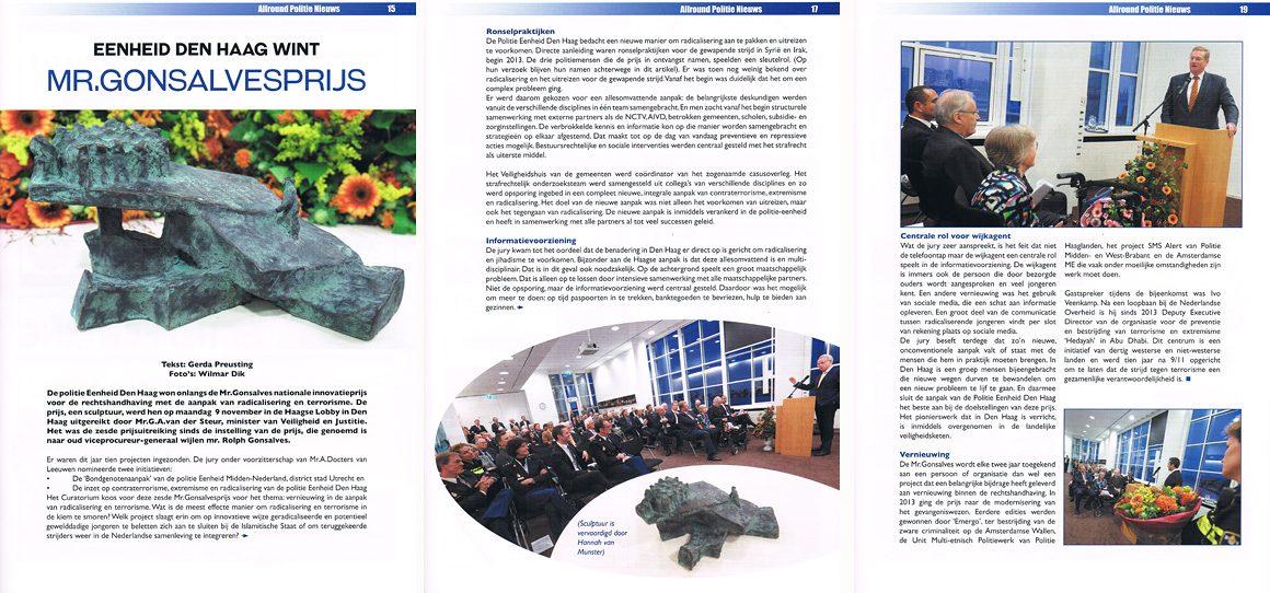 fotografie voor politie magazine vakblad