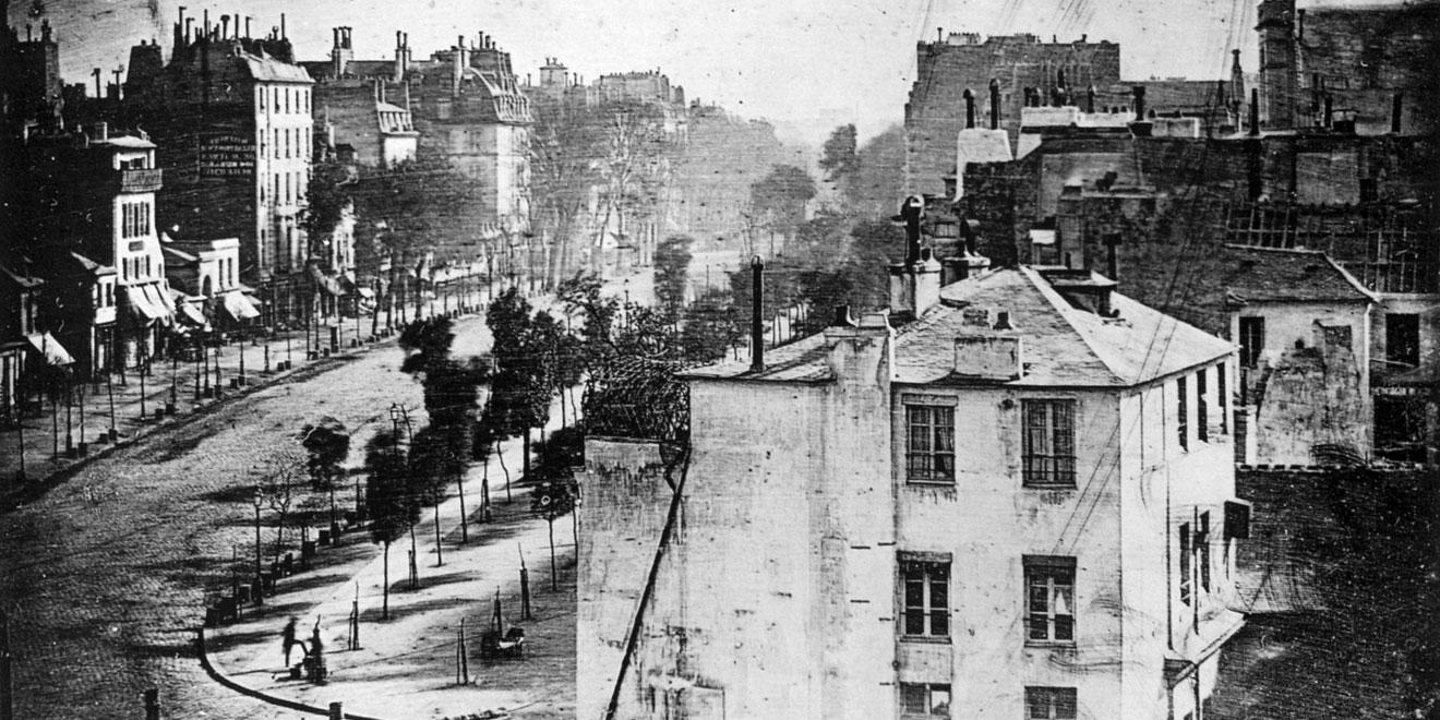 boulevard du Temple foto tijd