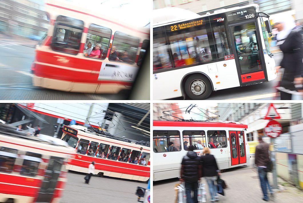Openbaarvervoer Den Haag fotografie
