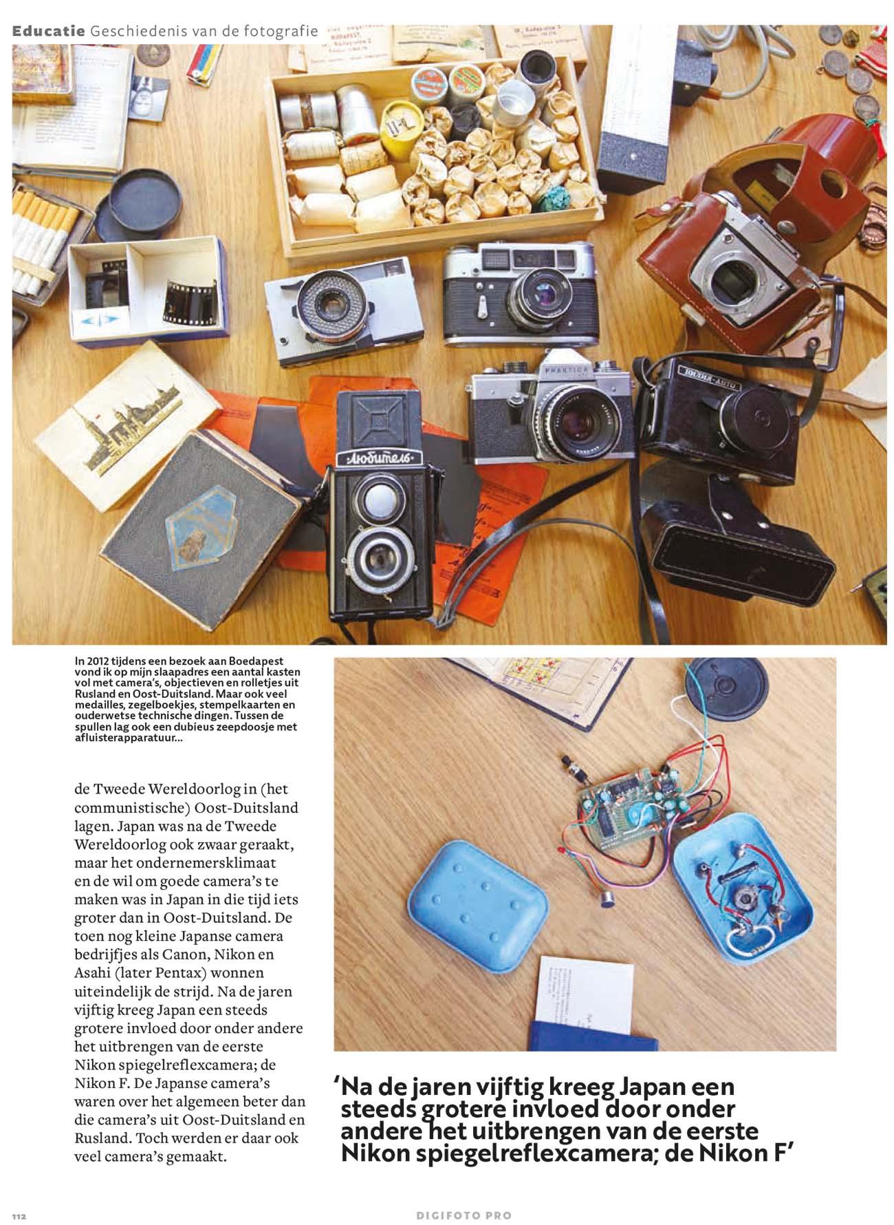Geschiedenis van de filmrol en digitale camera