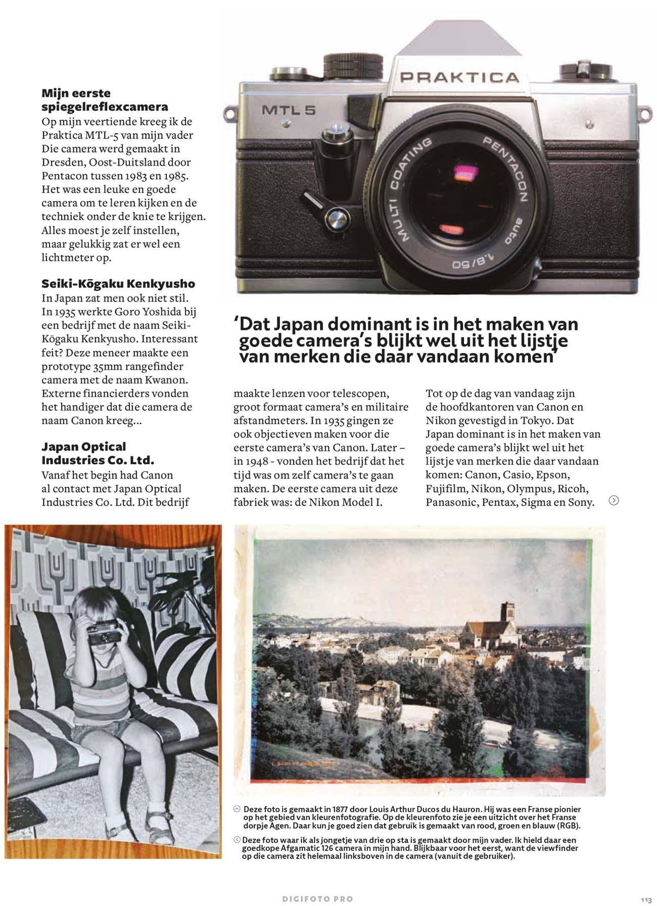 Geschiedenis van de digitale camera