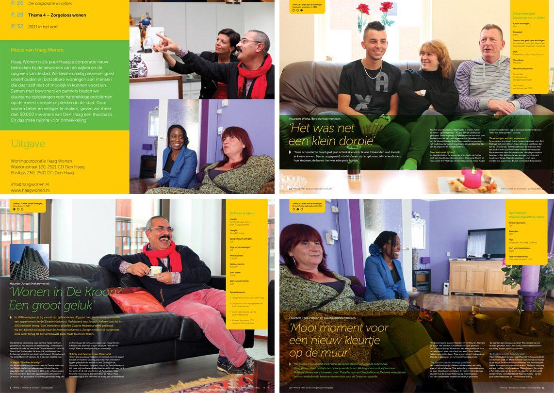 reportagefotografie voor Haage woningcorporatie