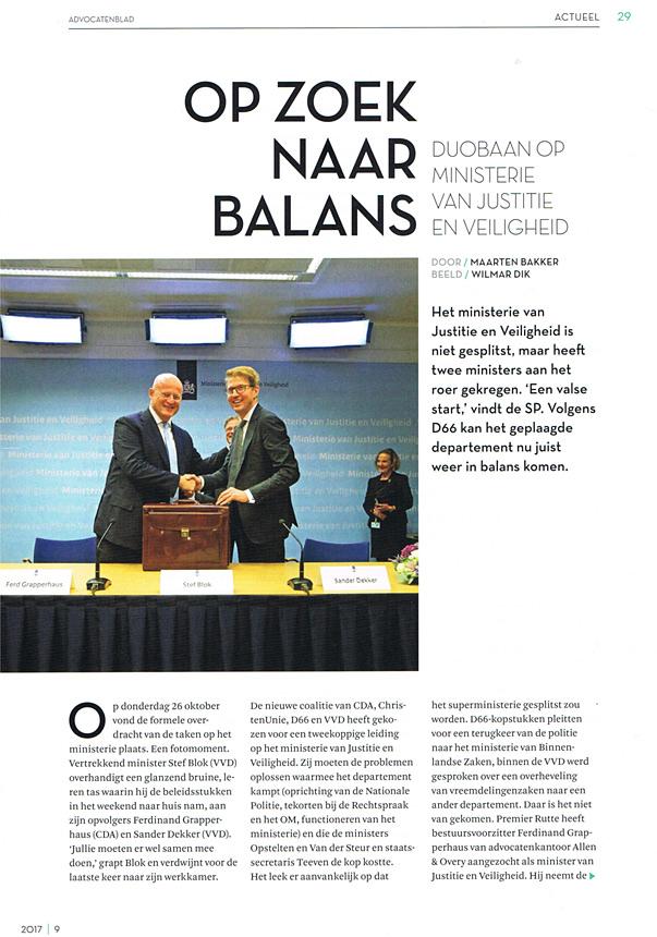 Ministerie fotografie politiek Den Haag
