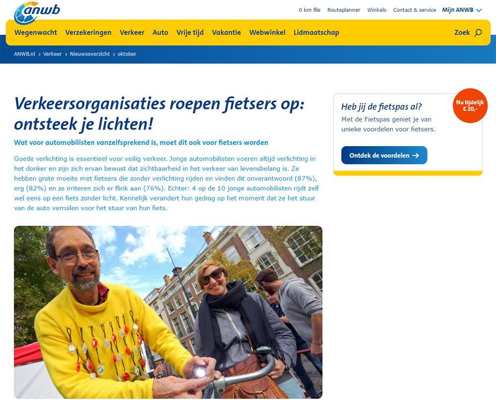 fotografie Den Haag voor de ANWB