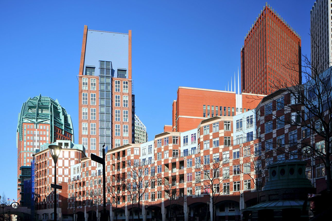 Architecture photography of The Hague by photographer in The Hague