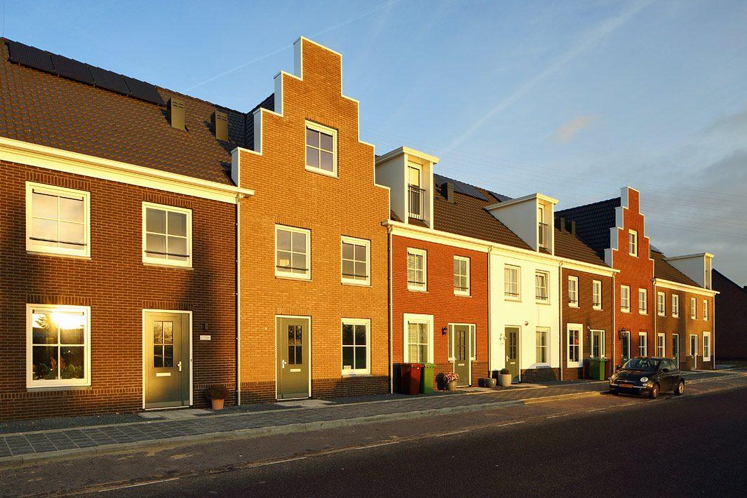 gebiedsontwikkeling fotografie nieuwbouw wijk bij Rotterdam