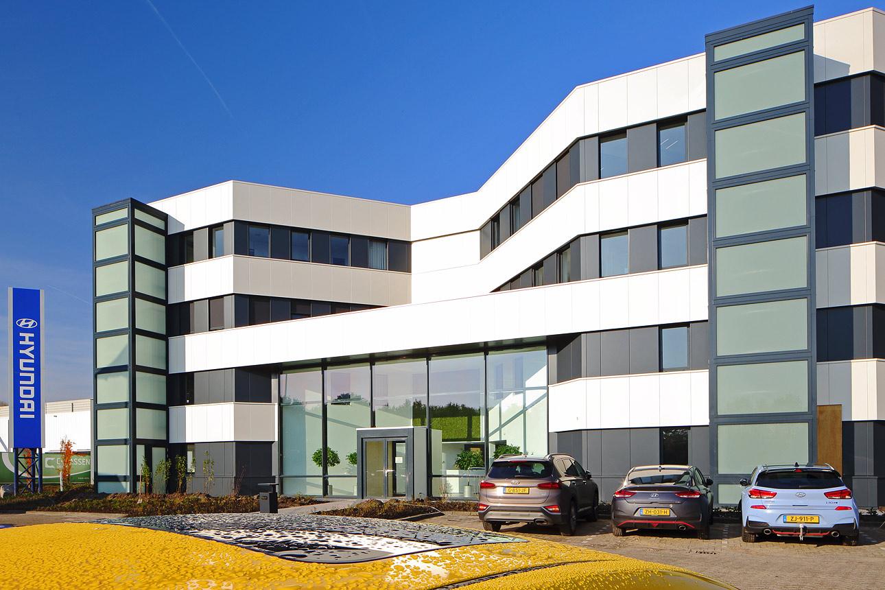 Bedrijfsfotoreportage architectuur kantoor