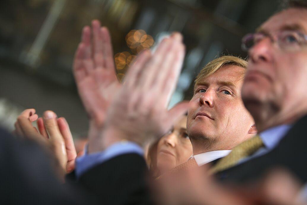 congres Den Haag koning
