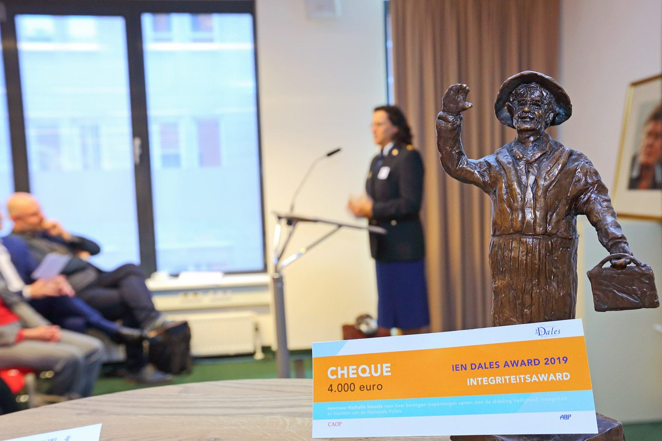 Award photography during an corporate event by photographer in The Hague