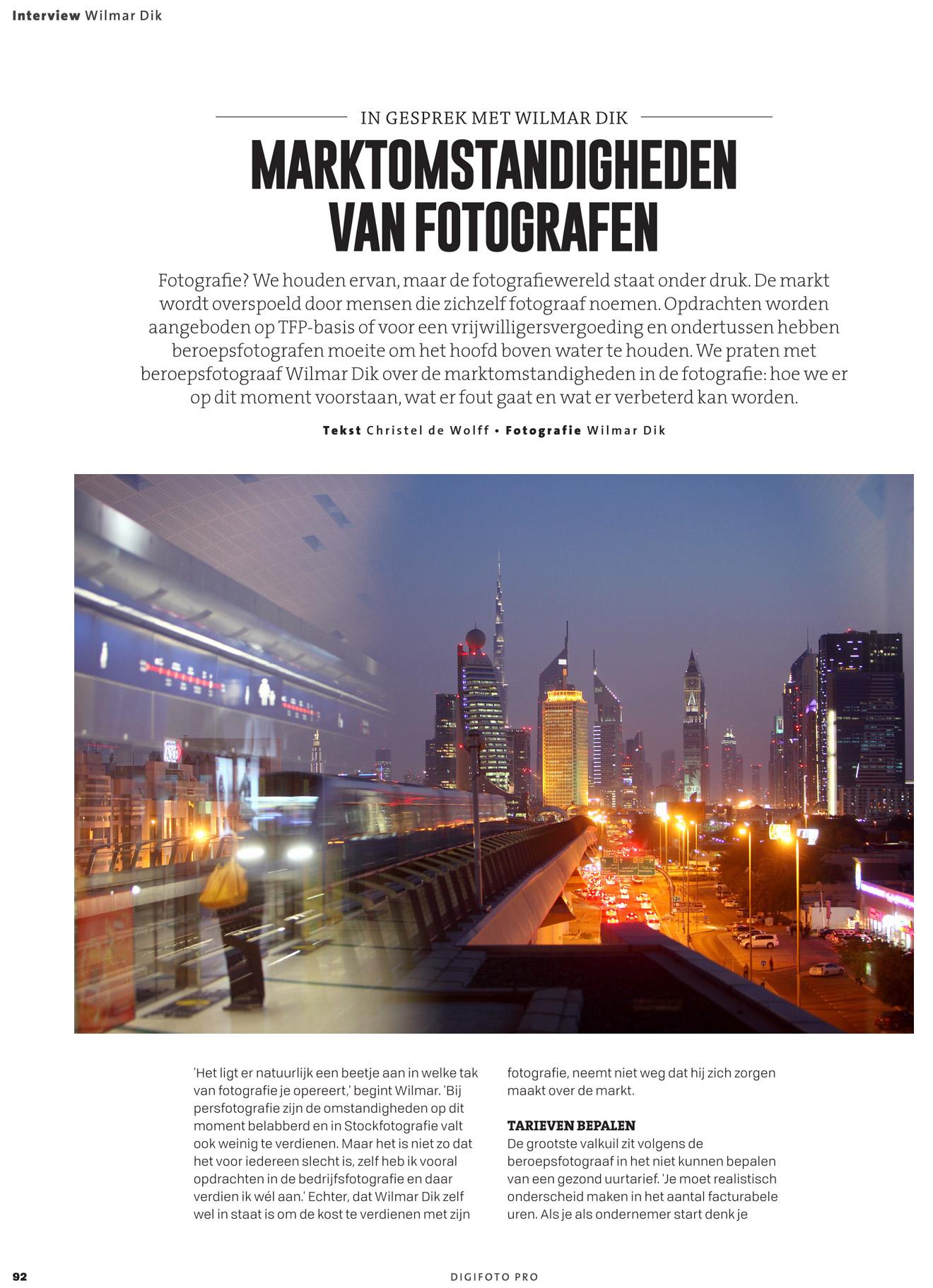 Ondernemen als fotograaf marktomstandigheden fotografie