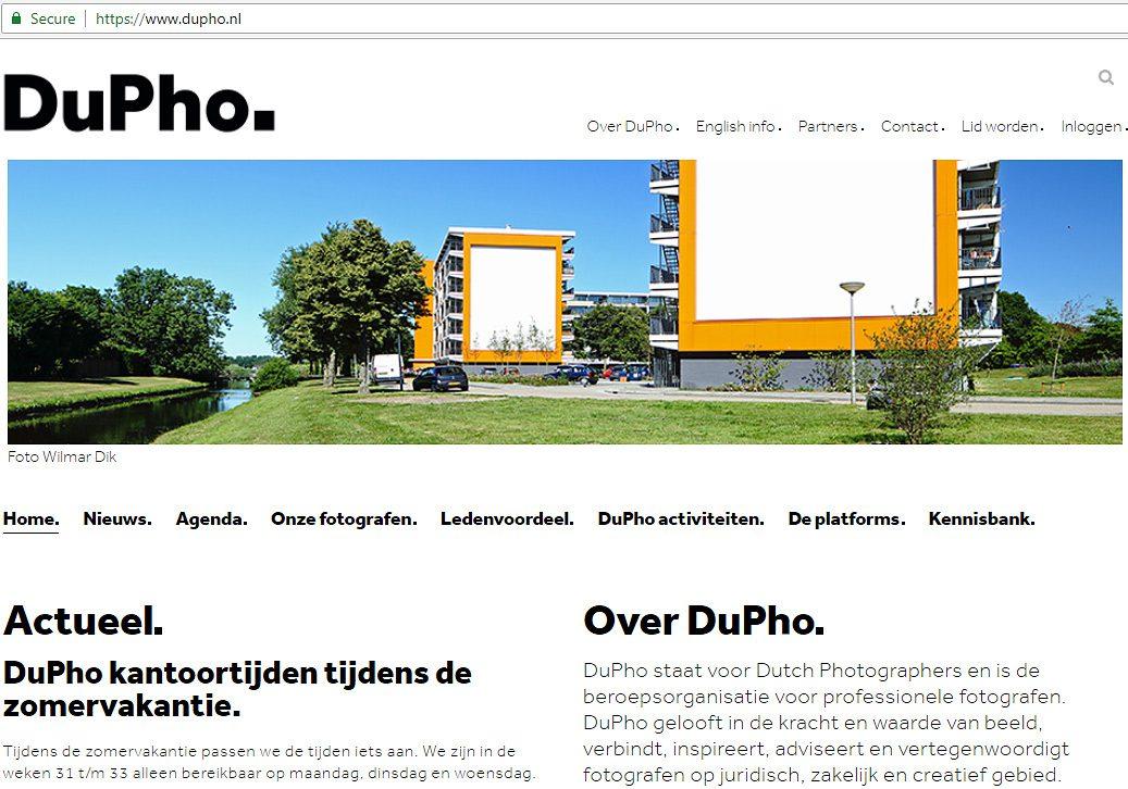 Fotografie voor DuPho website
