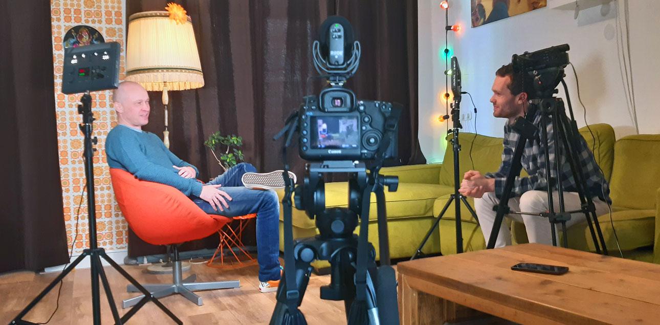 filmportret van fotograaf, interview met Wilmar Dik